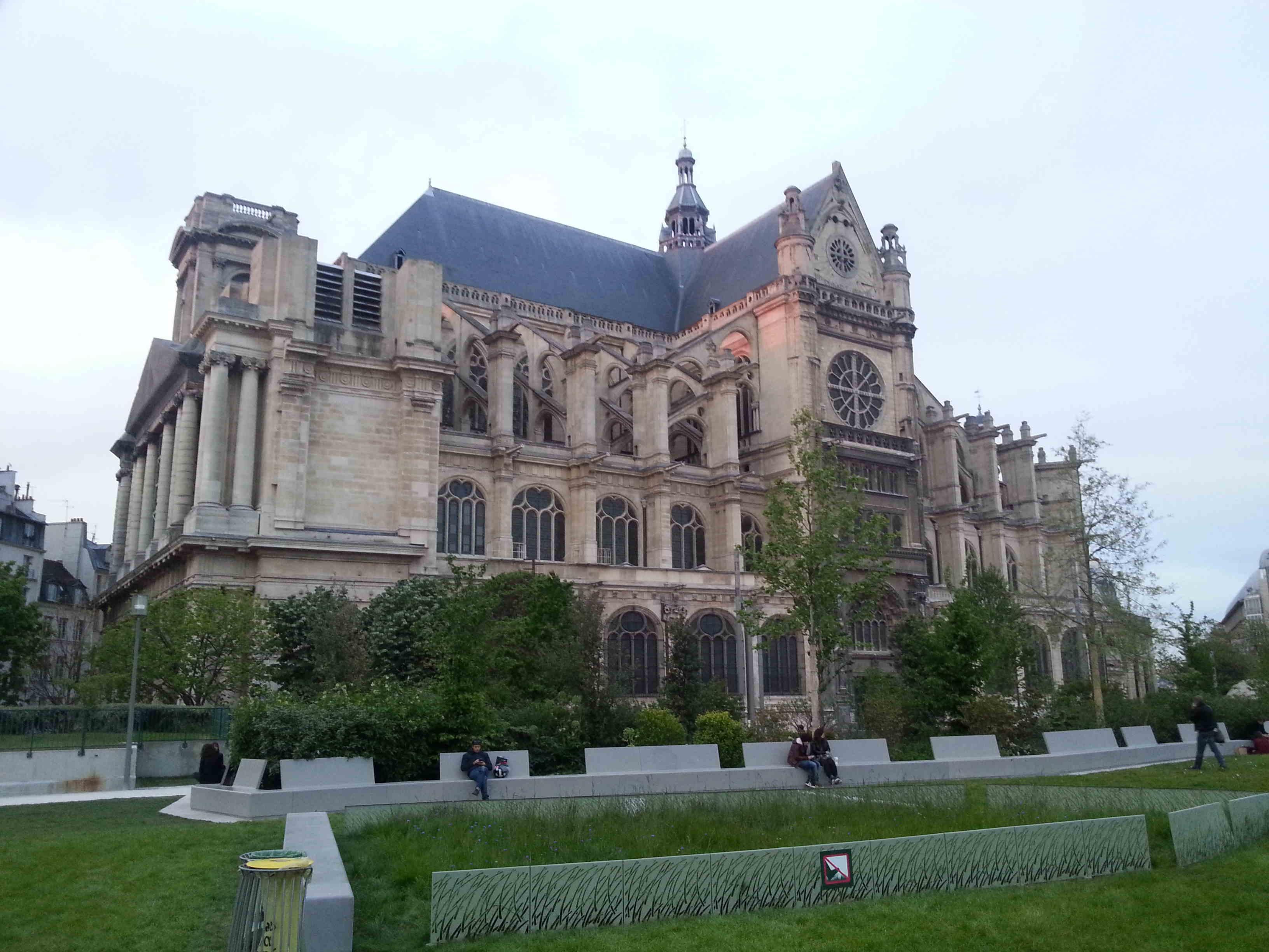 Saint eustache histoires de paris for Domon saint eustache