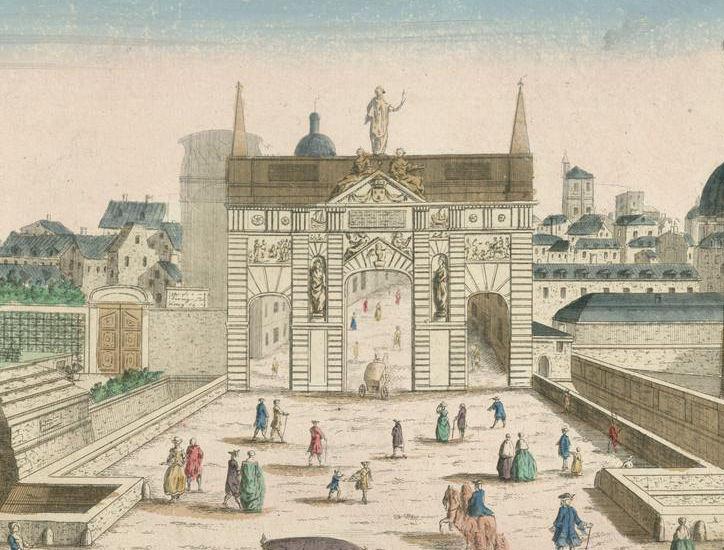 La porte saint antoine histoires de paris for Porte saint antoine