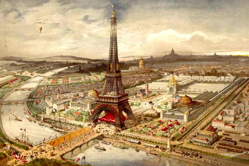L U0026 39 Exposition Universelle De 1889