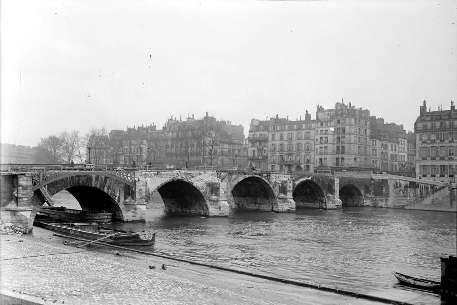 La Destruction Des Ponts Histoires De Paris