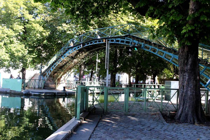 les ponts du canal saint martin histoires de paris. Black Bedroom Furniture Sets. Home Design Ideas