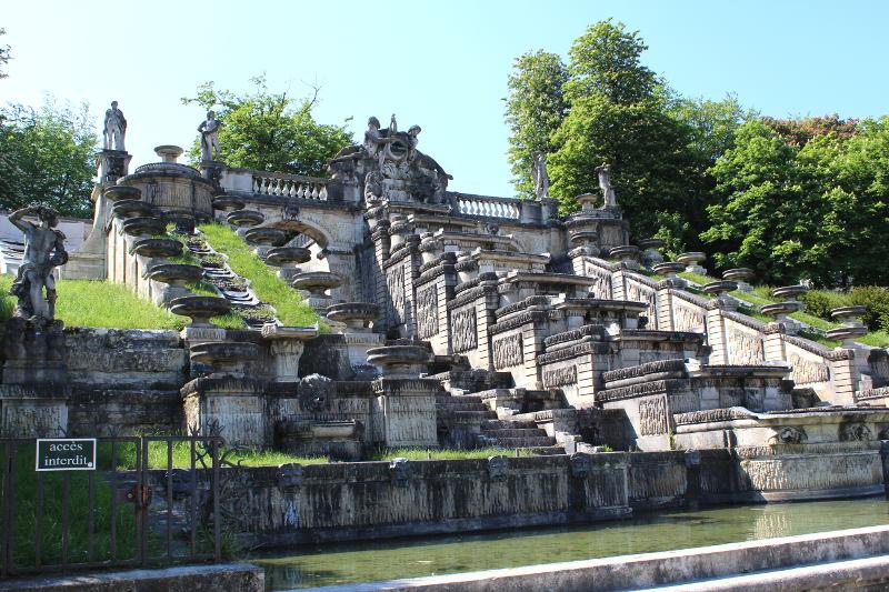 La grande cascade de Saint Cloud - Histoires de Paris